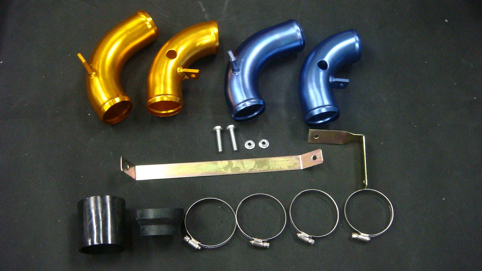 Myvi ram pipe yz series blue/gold