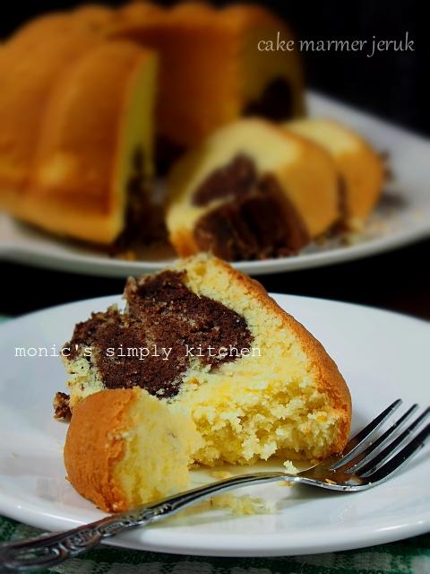 resep butter cake jeruk