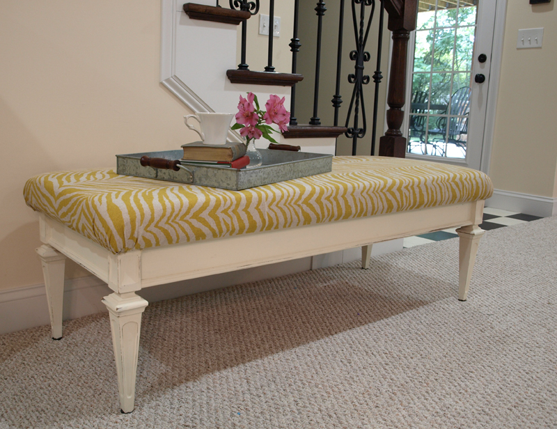 Another Coffee Table Bench and Questions Answered Less Than