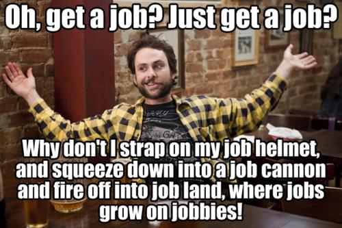Get a job meme