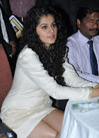 Taapsee Pannu in Designer White Gown Lovely Beauty Stunning Pics Must see