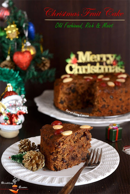 Old Fashioned Rich Fruitcake