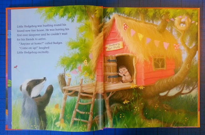 One Special Sleepover by M. Christina Butler and Tina Macnaughton children's book review inside page