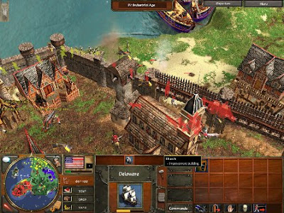 Screenshoot 1 - Cover Age of Empires III : The War Chiefs | www.wizyuloverz.com