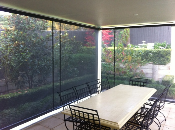Maintain Your Outdoor View With Sunscreen Blinds Awnings