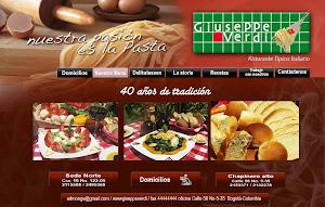 WEB Restaurante Giuseppe Verdi