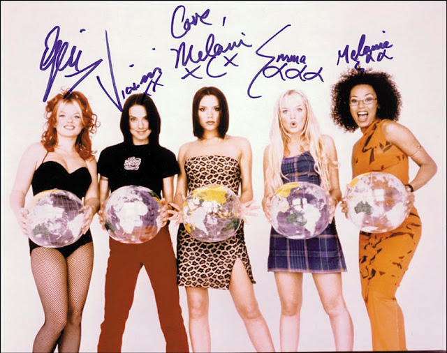 Names of the spice girls