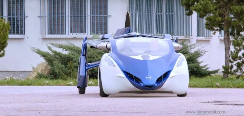 AeroMobil choca o mundo automotivo, com o carro capaz de voar