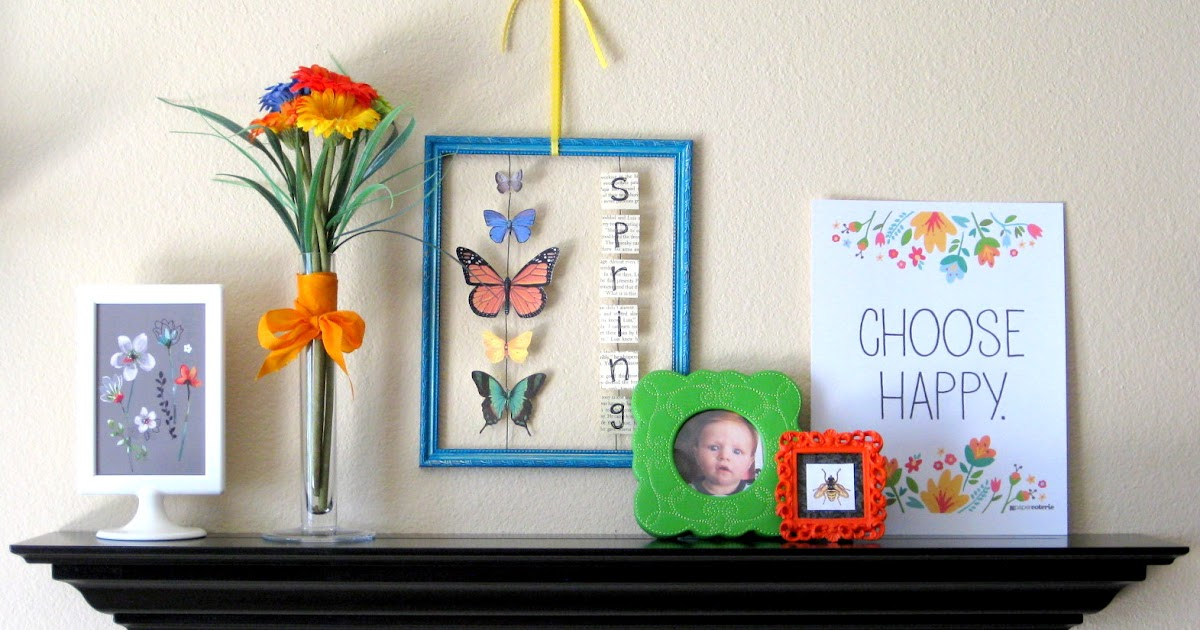 Things To Do With Empty Picture Frames