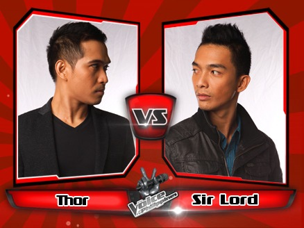 Thor Dulay vs Sir Lord Lumibao | The Voice of the Philippines Battle Rounds