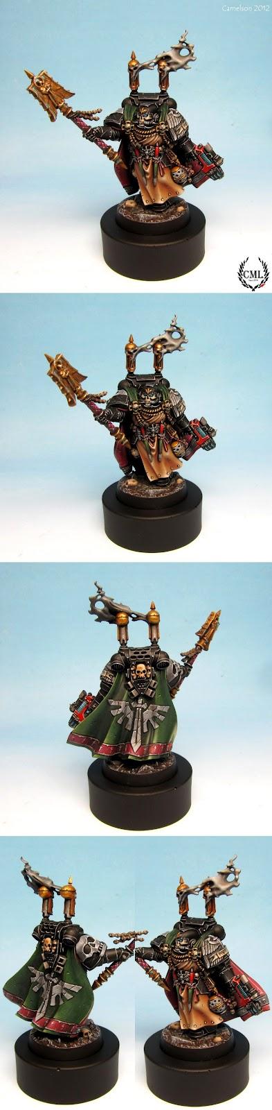 Capellán-Interrogador Seraphicus pintado