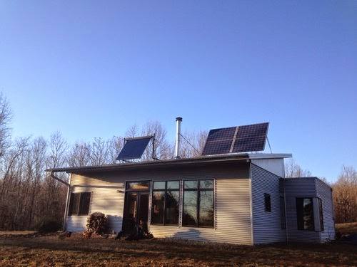 Passive Solar Modern Prefab Off Grid And Old Time Dancing