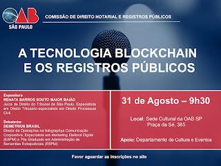 Palestras - Salão Nobre da OAB/SP (Praça da Sé)