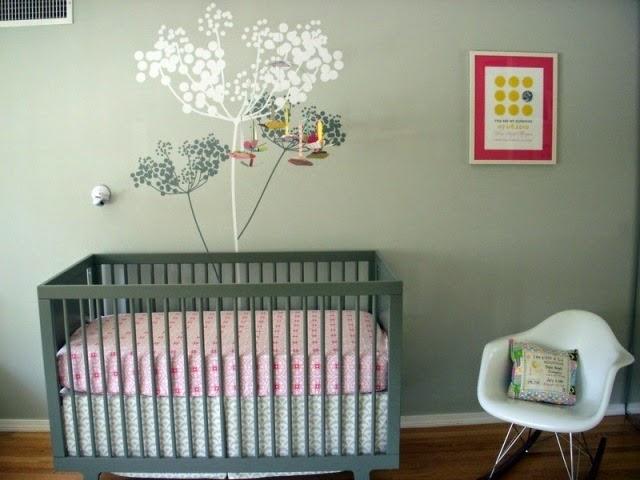 baby nursery wall color ideas