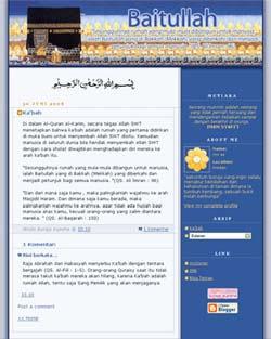 Ka'bah baitullah blogger Template