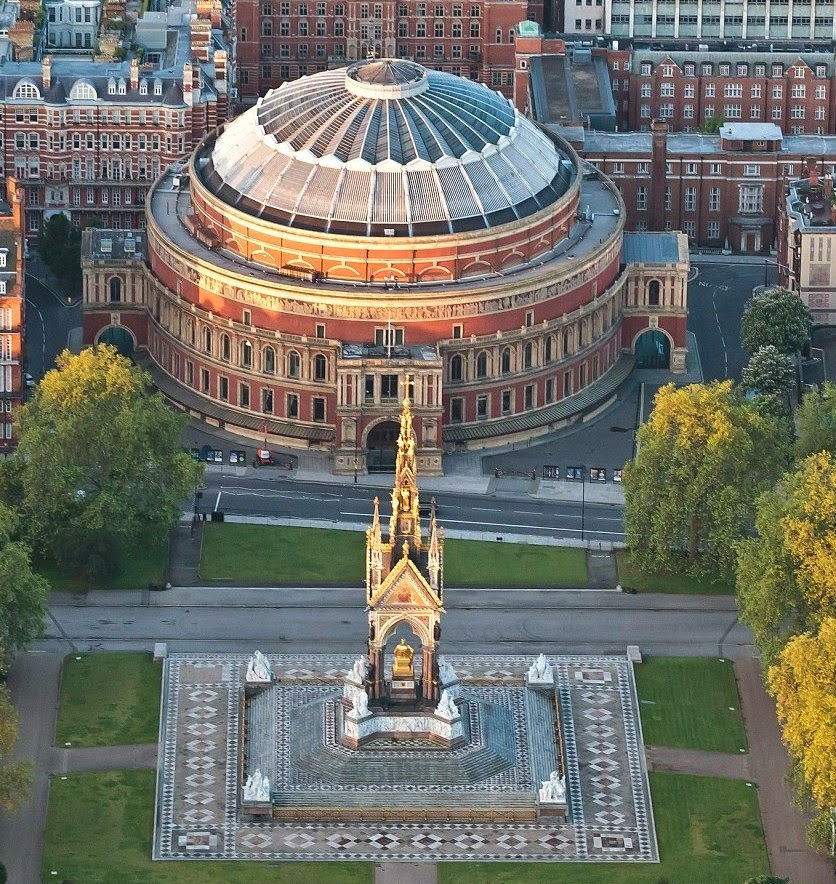 Art and architecture mainly royal albert hall or the for Door 4 royal albert hall