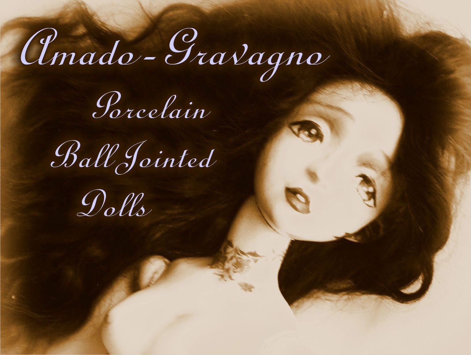 amadogravagno porcelain ball jointed dolls