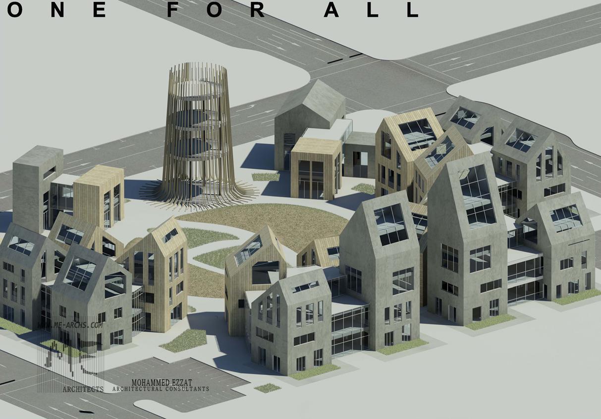 Residential urban village design proposal
