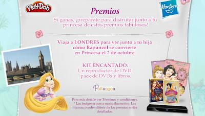 premios viaje Londres concurso princesas disney Mexico argentina 2011