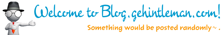 Welcome to blog.gehintleman.com