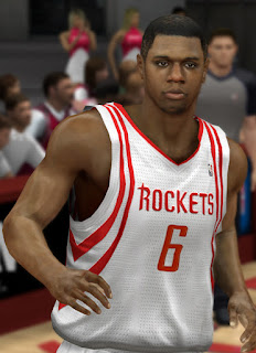 NBA 2K13 Terrence Jones Cyber Face Mods