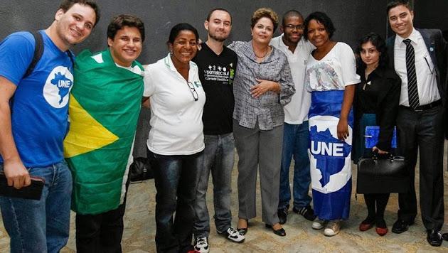 REUNIÃO COM A PRESIDENTE DILMA ROUSSEFF