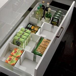 caja ajustable organizador cajon cocina gavetero moderno diseño