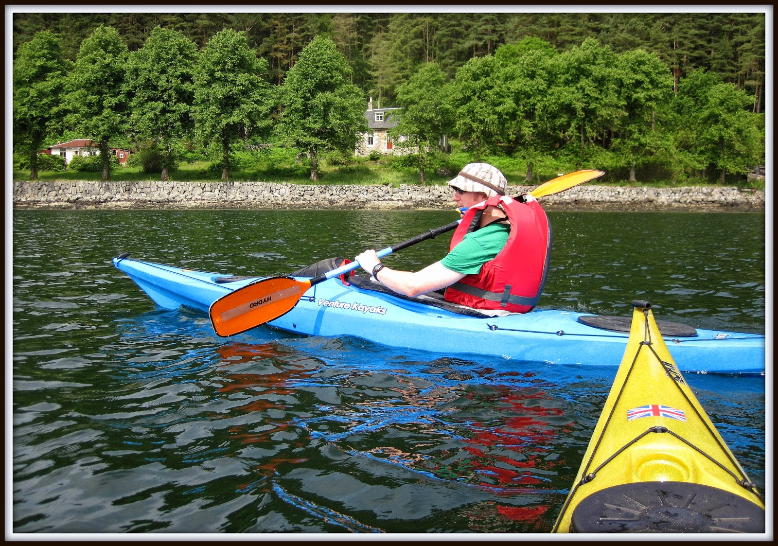 paddling for fun wee trip to carrick castle on loch goil with