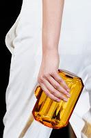 Прозрачна чанта портмоне на Stella McCartney