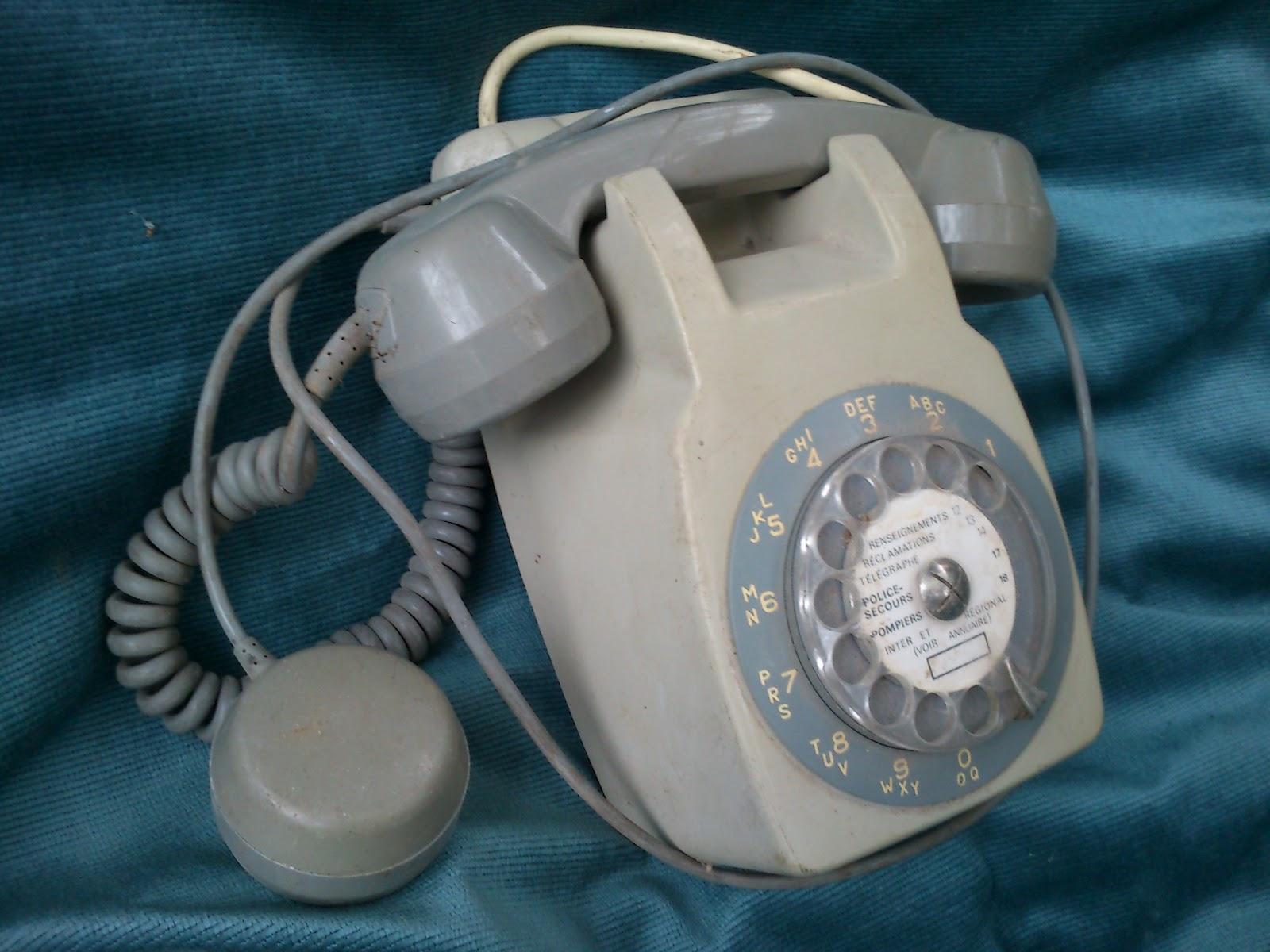 telephone annees gris achat