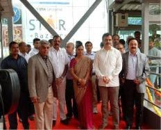 Skywalk with an escalator inaugurated in #Bangalore
