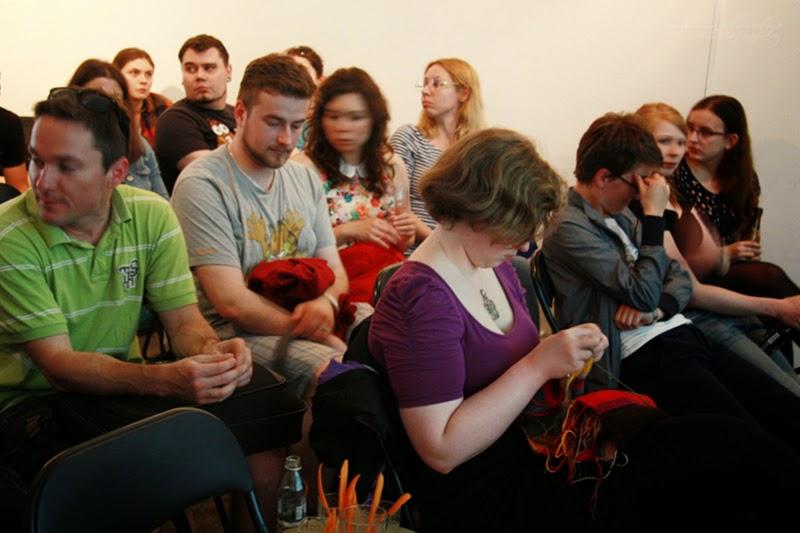 urodzinowe spotkanie Geek Girls Carrots Łódź - publicznosz, kobiety, mezczyzni, Kamila Sidor