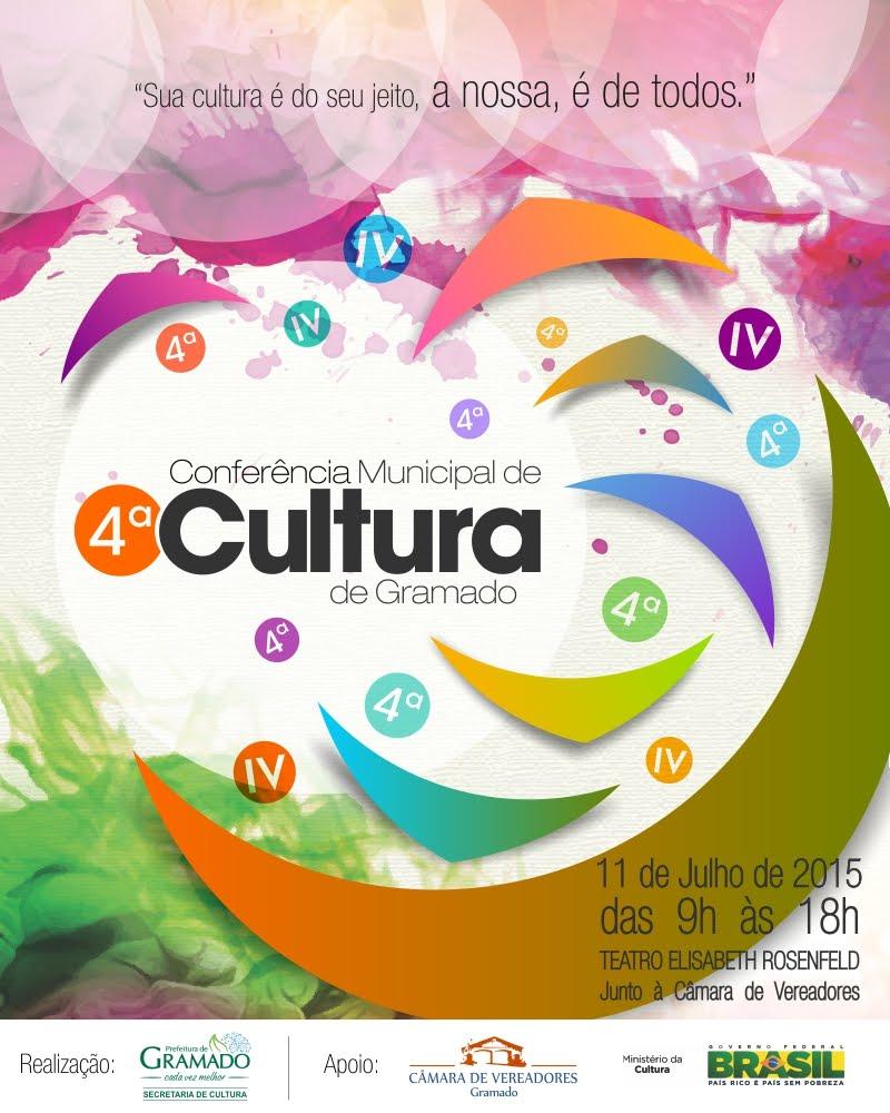4ª Conferência Municipal de Cultura