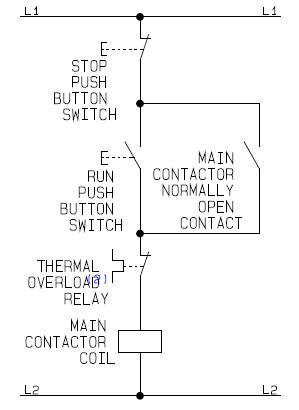 Flowchart Guide For Control Circuit Of on 3 pole relay diagram