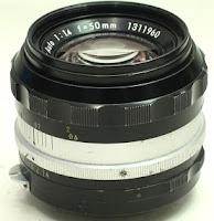 Lensa Manual Nikon 50mm