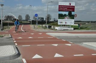 Snelfietsroute Nijmegen - Beuningen