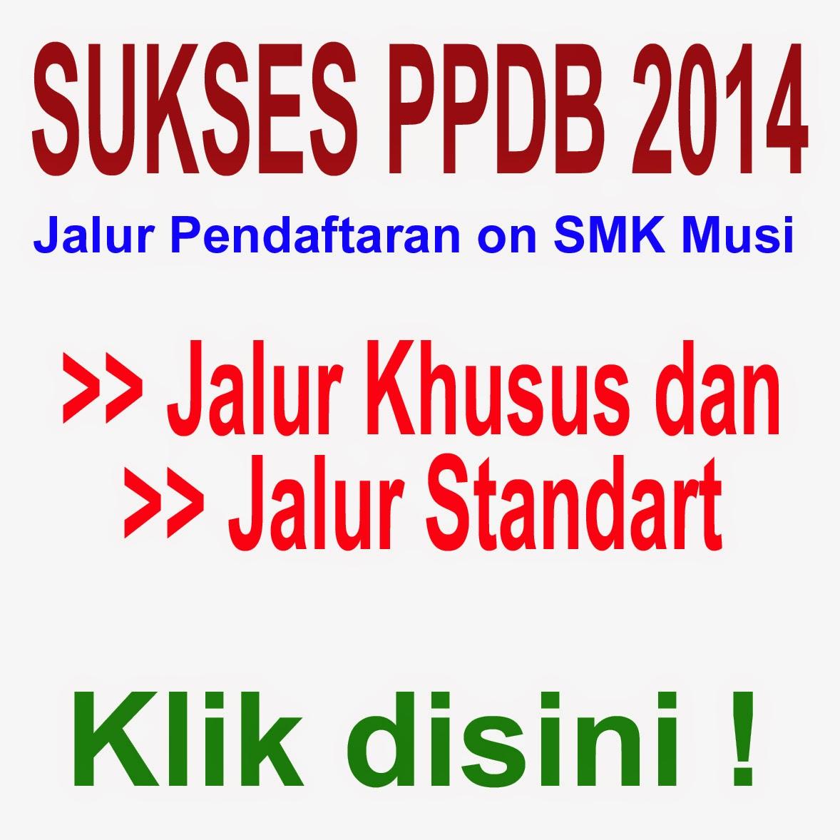 Sukses PPDB 2014