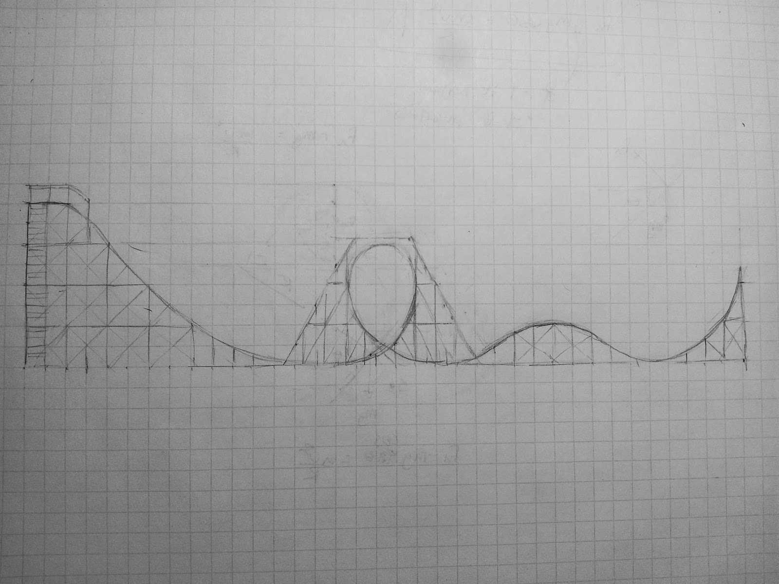 buildits in progress roller coaster track design