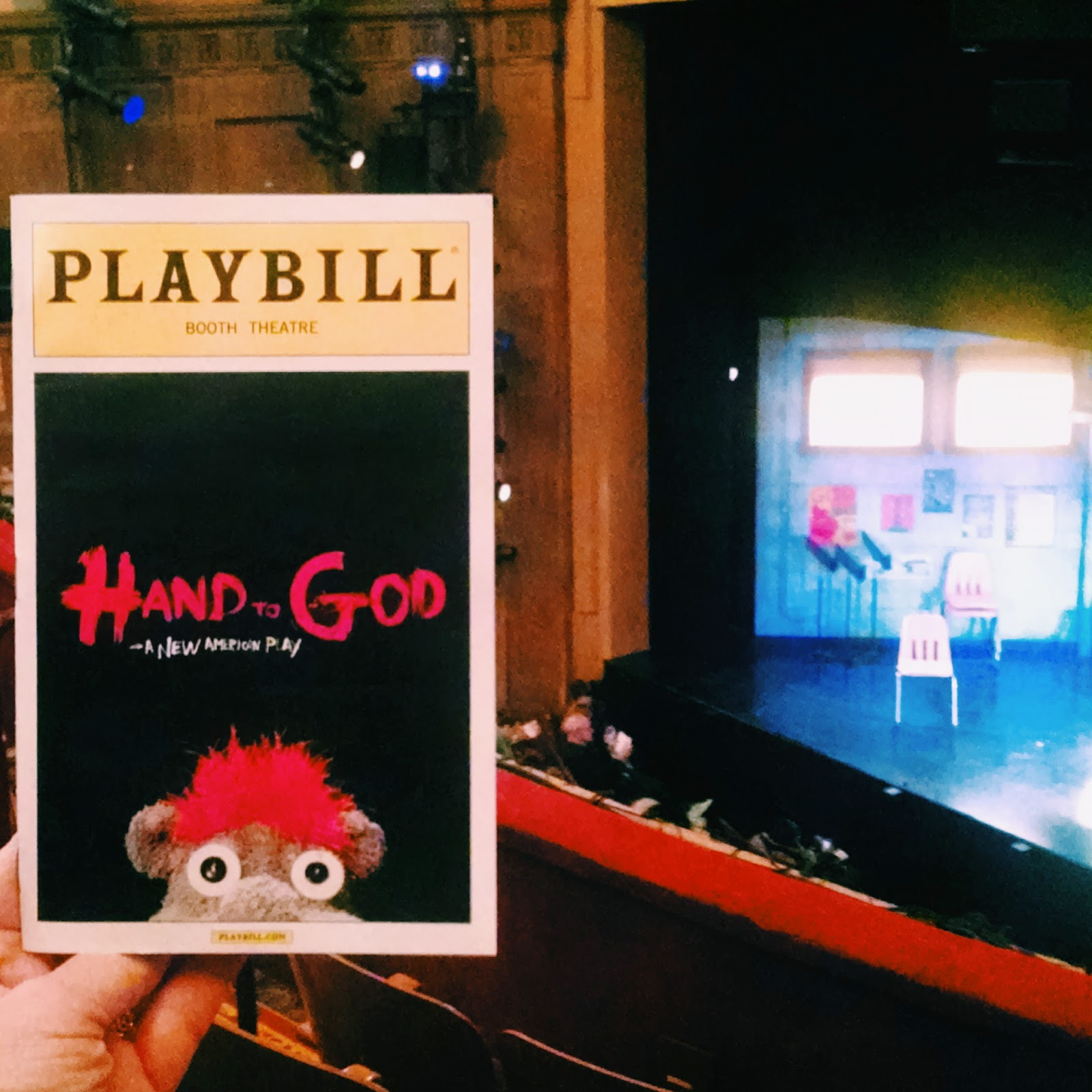 Hand to God Broadway