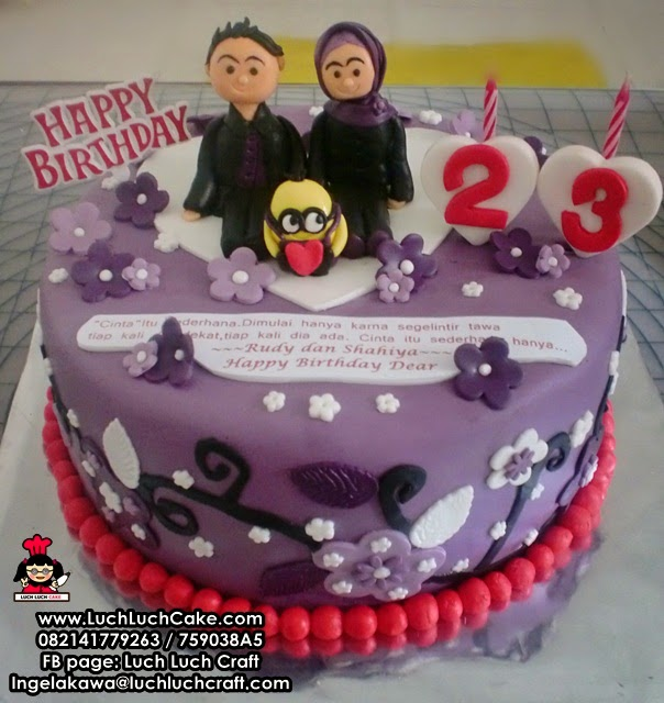 Kue Tart Romantis Untuk Pacar