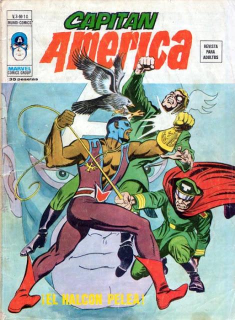 Portada de Capitán América Volumen 3 Nº 10 Ediciones Vértice