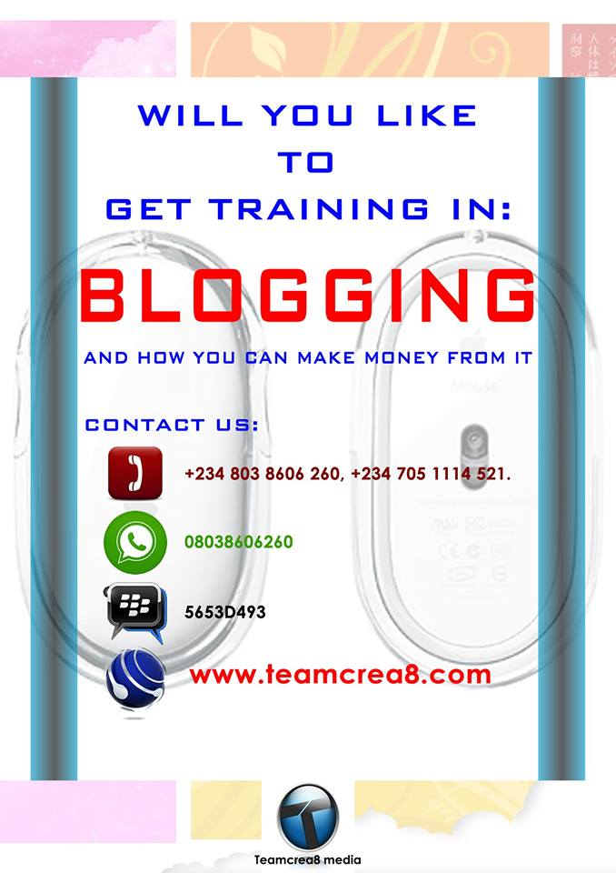 GET BLOGGING TRAINING