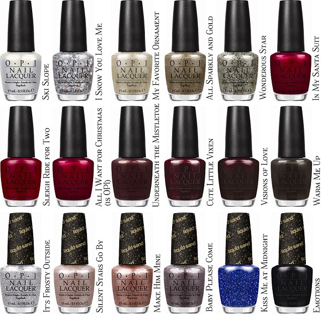 Fashion Polish: OPI Mariah Carey Limited Edition Holiday Collection