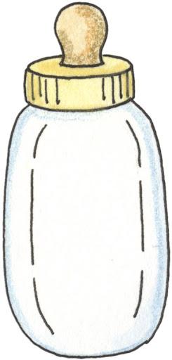 Dibujos de biberones para imprimir
