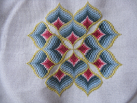 bargello borduren