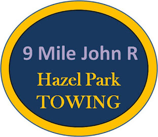 John R 9 Mile Hazel Park Towing