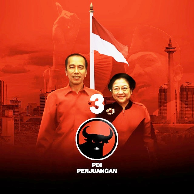 Deklarasi PDIP Calonkan Presiden Jokowi Periode Kedua