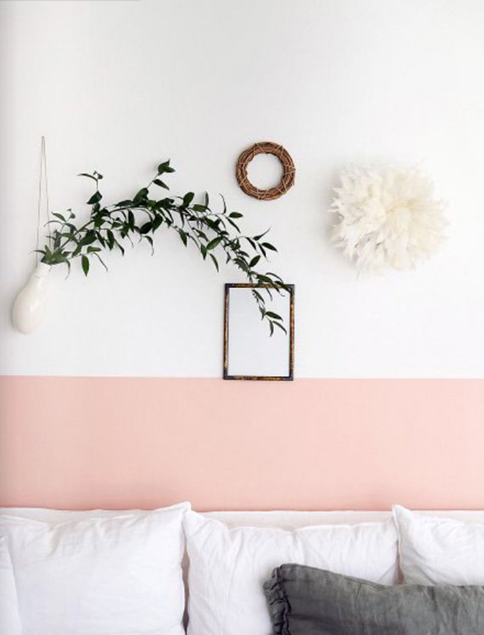 Blush Pink wall decoration