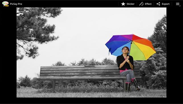 Aplikasi edit foto android terbaik - picsay photo editor