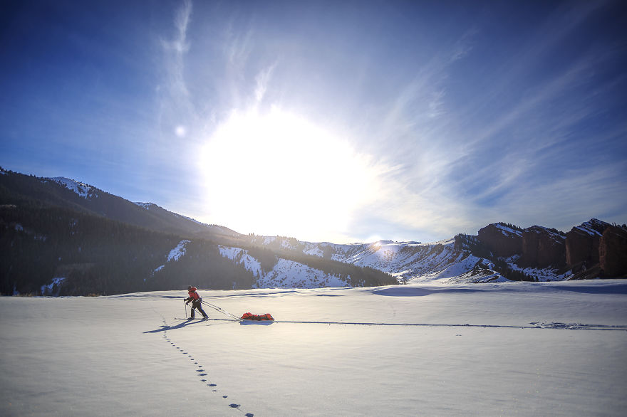 I Walked 400km On Skis And Snowshoes To Capture Amazing Landscapes In Kyrgyzstan - I Walked 400km On Skis And Snowshoes To Capture Amazing Landscapes In Kyrgyzstan